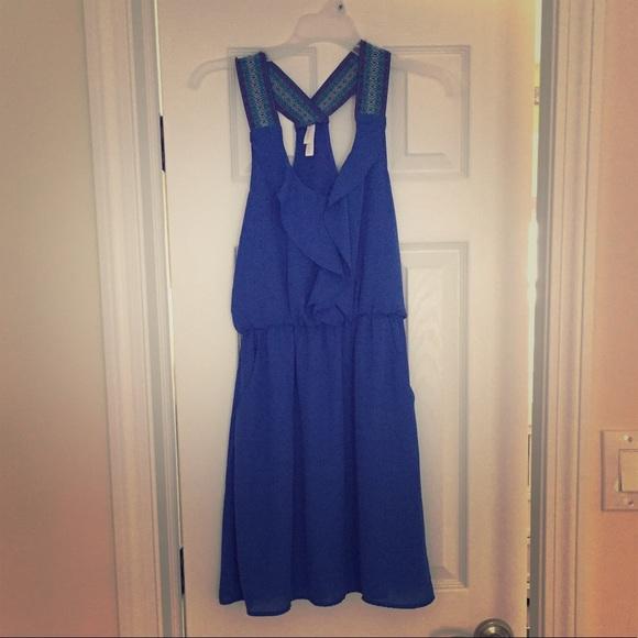 Xhilaration Dresses & Skirts - Summer racer back dress